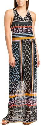 BCBGMAXAZRIA Lace Maxi Dress