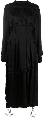 Jil Sander Bodice-Detail Maxi Dress