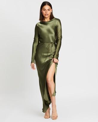 Bec & Bridge Delphine LS Midi Dress