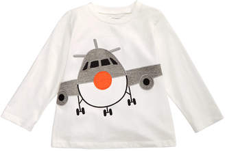 First Impressions Toddler Boys Airplane-Print Cotton T-Shirt