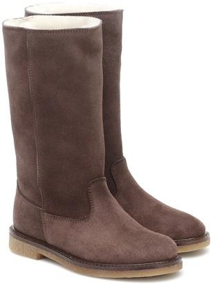 Bonpoint Wild suede boots
