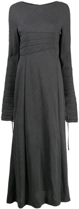 Gianfranco Ferré Pre-Owned 2000s Bell Sleeves Long Dress
