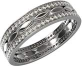JewelsForum Womens Eternity Wedding Band Rings in 14K Yellow Gold With 0.5 Carat Diamonds and Band Width 5mm