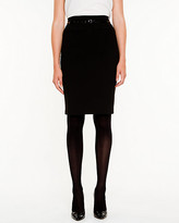 Le Château High Waisted Pencil Skirt
