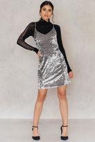 Short Velvet Strap Dress