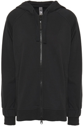 adidas by Stella McCartney Essentials Printed French Cotton-terry Hoodie