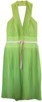 Escada Green Silk Dress for Women