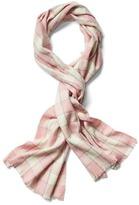 Gap Cozy plaid scarf