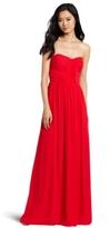 Erin Fetherston ERIN Women's Strapless Shirred Gown