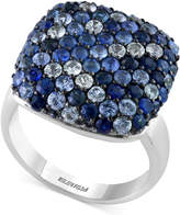 Effy Splash by Sapphire Cluster Ring (3-1/5 ct. t.w.) in Sterling Silver