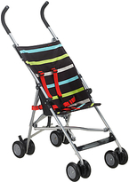John Lewis Striped Travel Stroller, Multicoloured