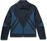 Neil Barrett - Panelled Stretch-denim Jacket