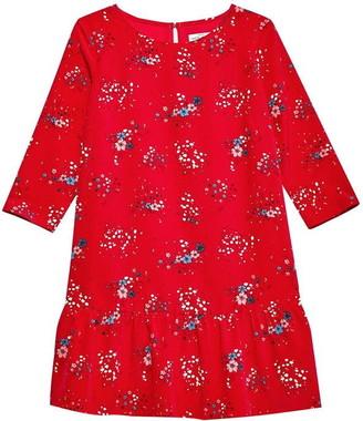 Jack Wills Cotterell Print Drop Waist Dress