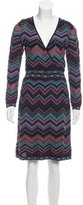 M Missoni Knit Striped Dress