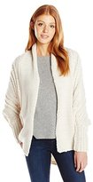Billabong Women's Icy Sands Chunky Coccoon Cardigan Sweater