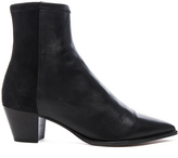 Isabel Marant Dabbs Velvet & Leather Boots