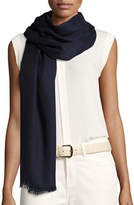 Loro Piana Shadow Striped Cashmere & Silk Stole