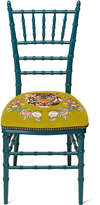 Gucci Chiavari chair with embroidered tiger