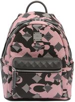MCM Mini Lion Camo Backpack