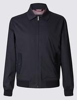 Blue Harbour Cotton Rich Harrington Jacket With Stormweartm
