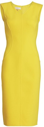 Michael Kors Stretch-Boucle Sheath Dress