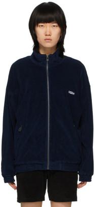 032c Navy Terry Logo Track Jacket