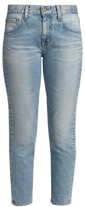 Ex-Boyfriend Slim-Fit Cropped Jeans