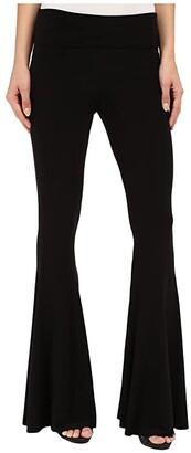 KAMALIKULTURE by Norma Kamali Fishtail Pants (Black) Women's Casual Pants