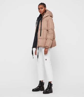 AllSaints Allie Reversible Puffer Coat
