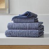 Crate & Barrel Marimekko Ilta Blue Bath Towels