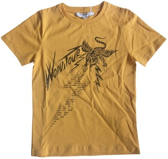 Givenchy Yellow Cotton Tops