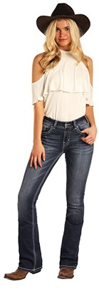 Rock and Roll Cowgirl Mid-Rise Bootcut in Medium Vintage W1-4121 (Medium Vintage) Women's Casual Pants