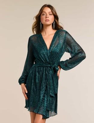 Ever New Silvia Plisse Mini Dress