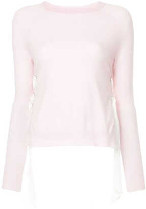 Onefifteen Side Lace-Up Jumper