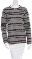 A.L.C. Long Sleeve Pattern Sweatshirt