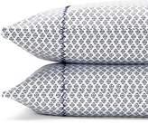 John Robshaw Tuleti Indigo King Pillowcase, Pair