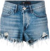 3x1 Boyfriend denim shorts - women - Cotton - 25