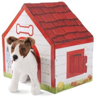 Melissa & Doug CARDBOARD STRUCTURE DOG HOUSE