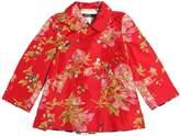 Reversible Silk & Cotton Satin Coat