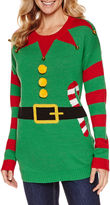 TIARA INTERNATIONAL Tiara Elf Round Neck Sweater