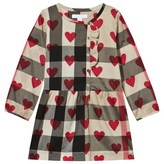 Burberry Classic Check and Heart Print Dress