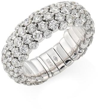 Zydo Stretch 18K White Gold & Diamond Ring