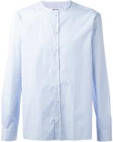 MSGM band collar shirt - men - Cotton - 41