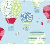 York Wall Coverings York wallcoverings Peek-A-Boo Hot Air Balloon Wallpaper