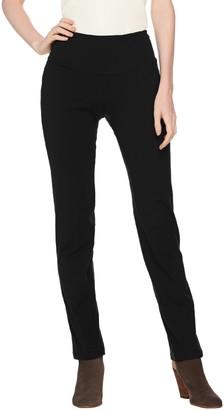 Women With Control Petite Tummy Control Slim Leg Pant