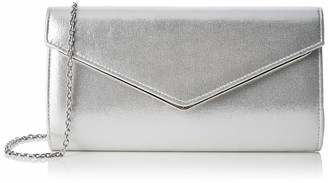 Lotus Womens Nina Clutch Silver (Silver)