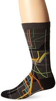 Ozone Men's MTA Vignelli Diagram Sock
