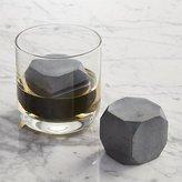 Crate & Barrel Set of 2 Whiskey Rocks Large