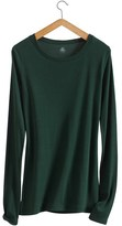 Petit Bateau Womens long-sleeved, round neck tee in light cotton