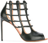Francesco Russo cell bars motif sandals - women - Leather/Bos Taurus - 37
